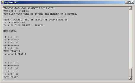 thisiscool com: TinyBasic for Java, Flex, C#